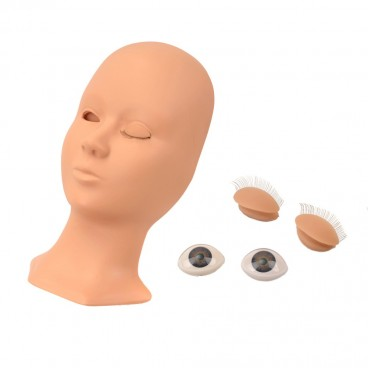Mannequin Training Head,Rubber Practice Training Head