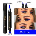 Double-headed color wing seal eyeliner