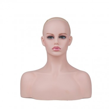 Mannequin Head Model Bust Wig Head Stand