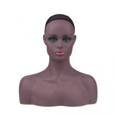 Mannequin Head Bust Wig Head Stand for Wigs Display