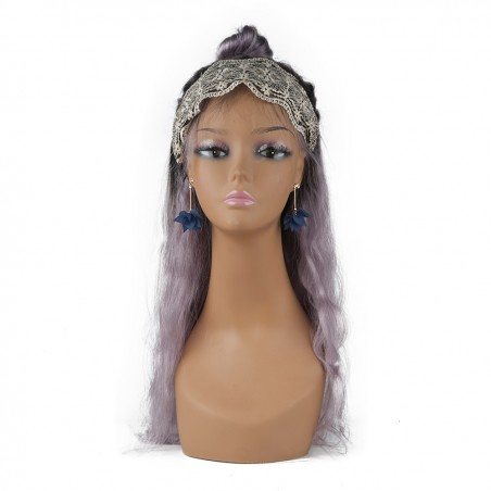 cheap tan female mannequin heads for displaying wigs
