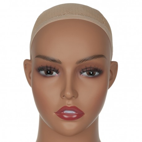 Realistic Mannequin Head Bust Wig Head Stand for Wigs Display Making Styling