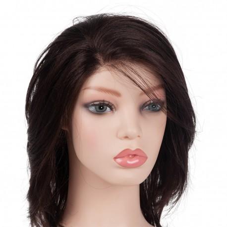 PVC Manikin Head Realistic Mannequin Model Head Bust Wig Head Stand