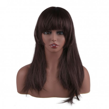 Mannequin Head Model Bust Wig Head Stand for Wigs Display